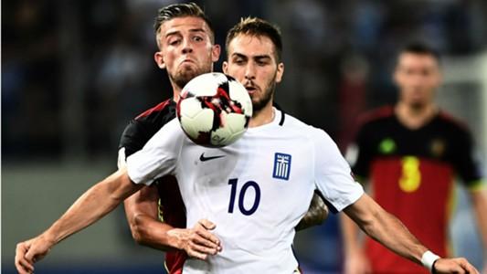 Greece Belgium WC Qualification