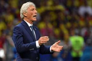 Jose Pekerman Colombia vs Polonia Mundial 2018