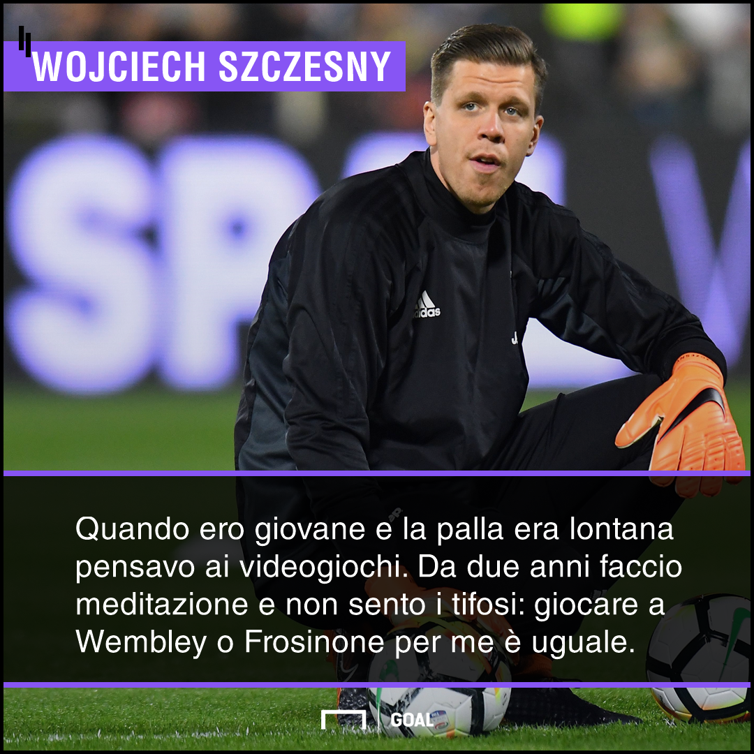 Juve, Szczesny spavaldo:
