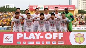 Nam Định Hà Nội B Play-off giành vé dự V.League 2018