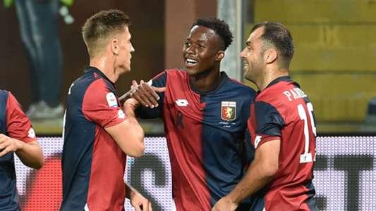 Christian Kouame scores as 10-man Genoa fall to Torino