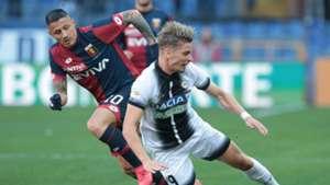 Stryger Larsen Gianluca Lapadula Genoa Udinese Serie A