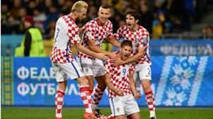 Ukraine Croatia Andrej Kramaric Ivan Rakitic Ivan Perisic Sime Vrsaljko