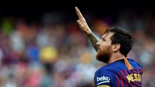 Lionel Messi Barcelona Huesca LaLiga 02092018