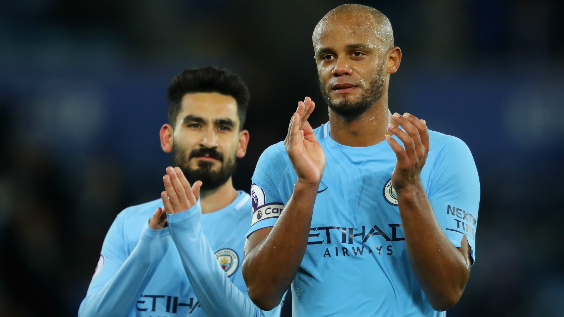 Manchester City captain Kompany ruled out for 'a short time'