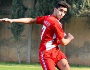 علي عثمان - لاعب الاجتماعي طرابلس اللبناني