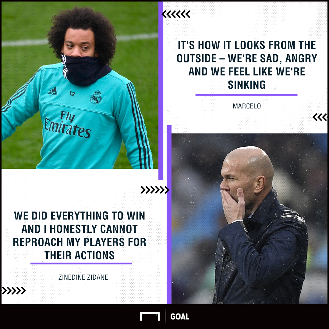 Marcelo and Zidane