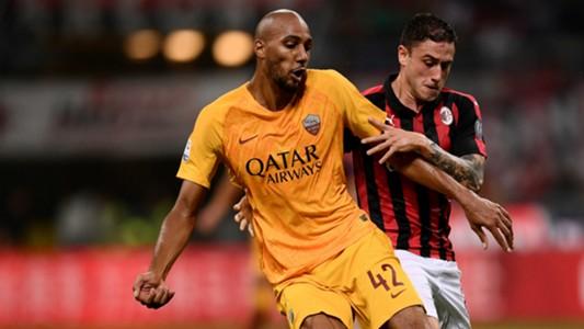 Steven N'Zonzi Roma AC Milan