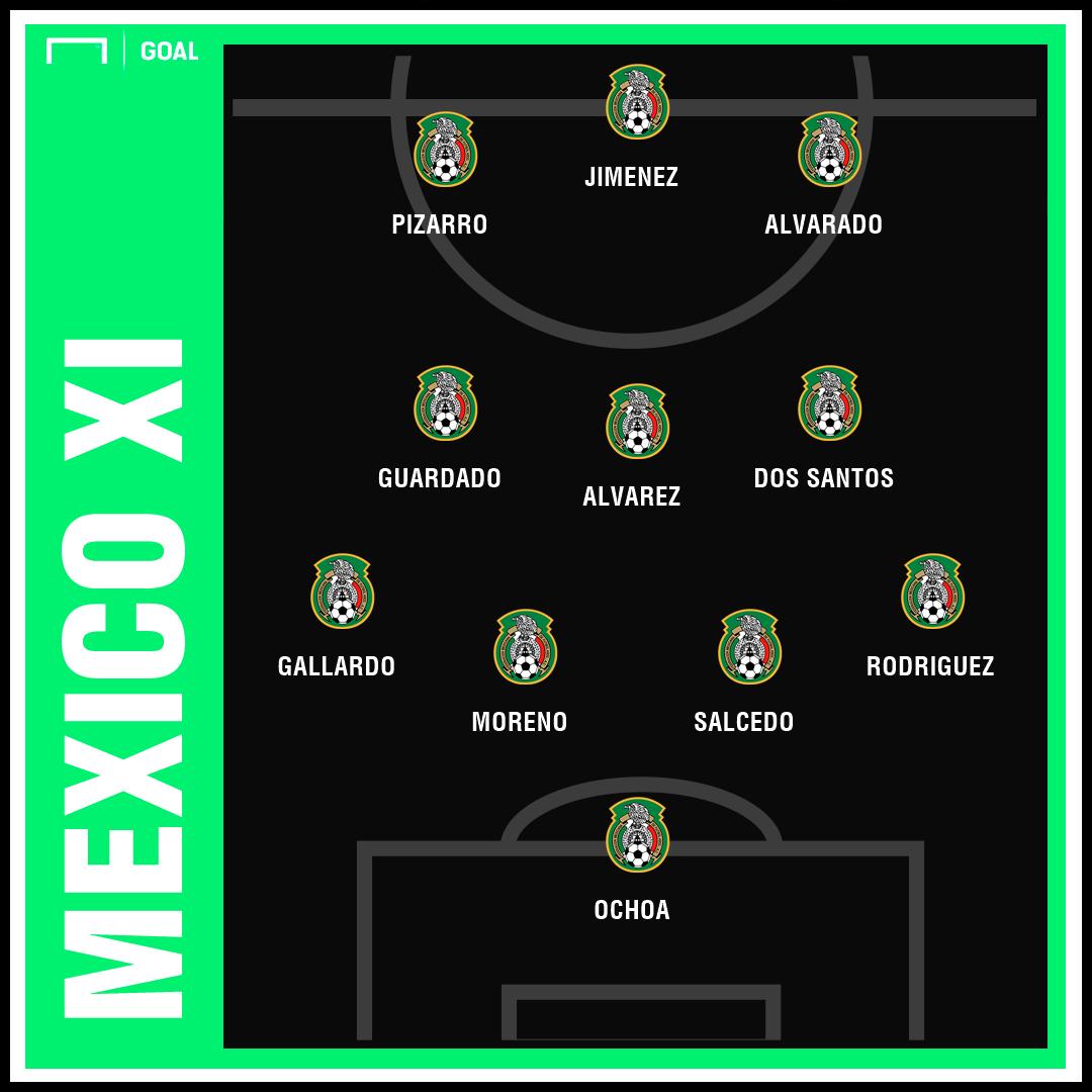 Mexico XI Haiti