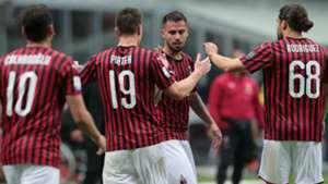 Milan celeb Frosinone