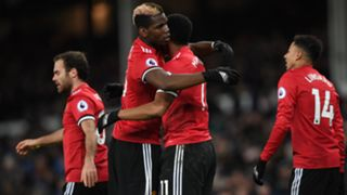 Paul Pogba Anthony Martial Manchester United EPL 01012018