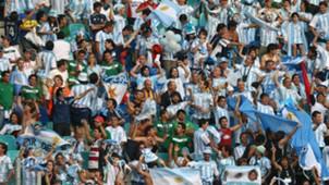 Mexico Argentina fans
