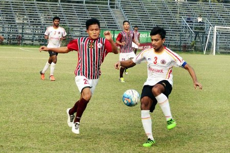 Mohun Bagan vs East Bengal in U-18 I-League 2016/17