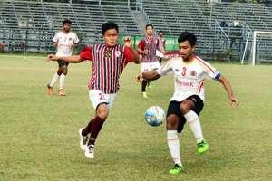 Mohun Bagan vs East Bengal in U-18 I-League 2016/17