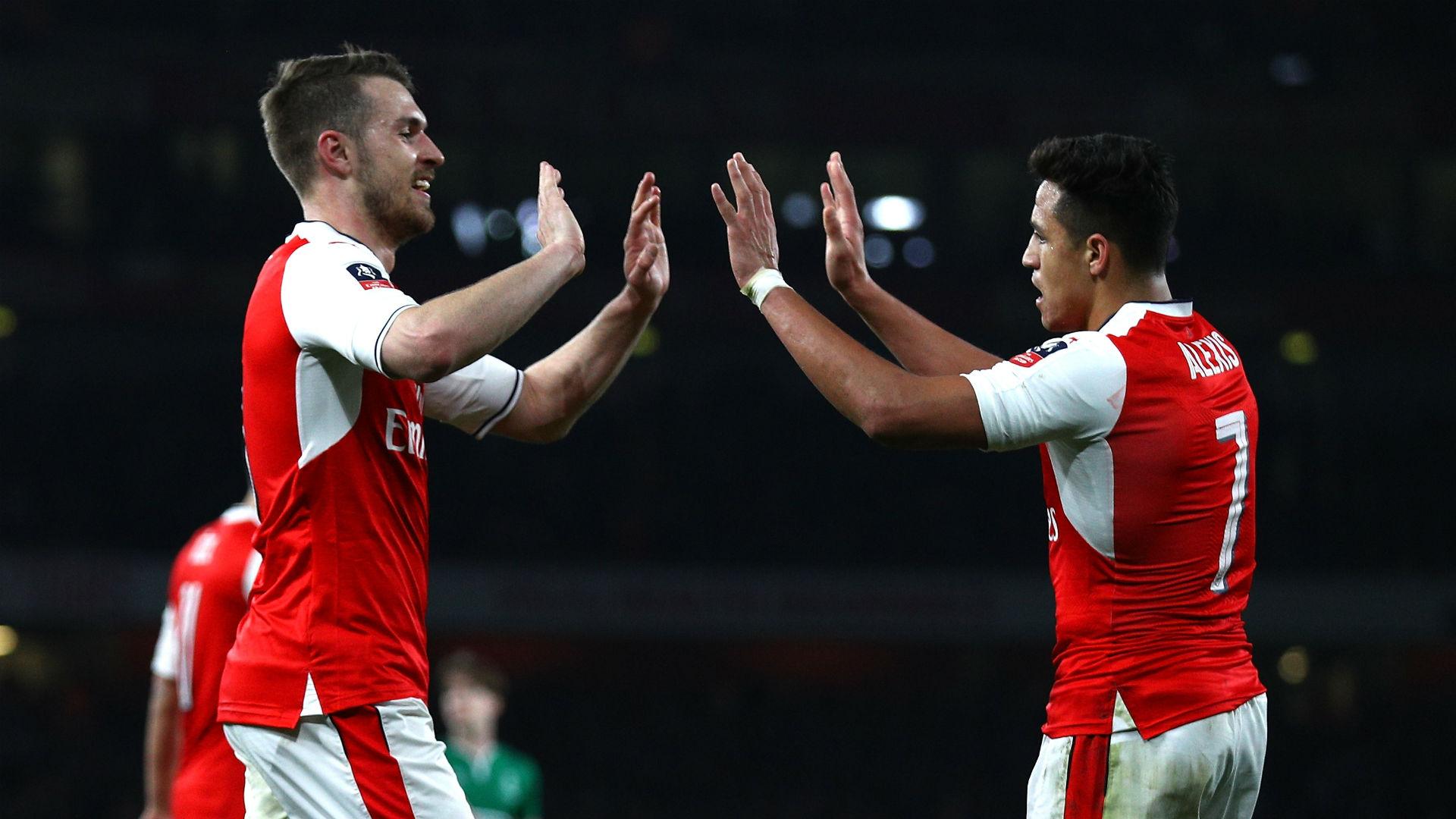 Aaron Ramsey Alexis Sanchez Arsenal