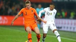 De Ligt Mbappe Netherlands France