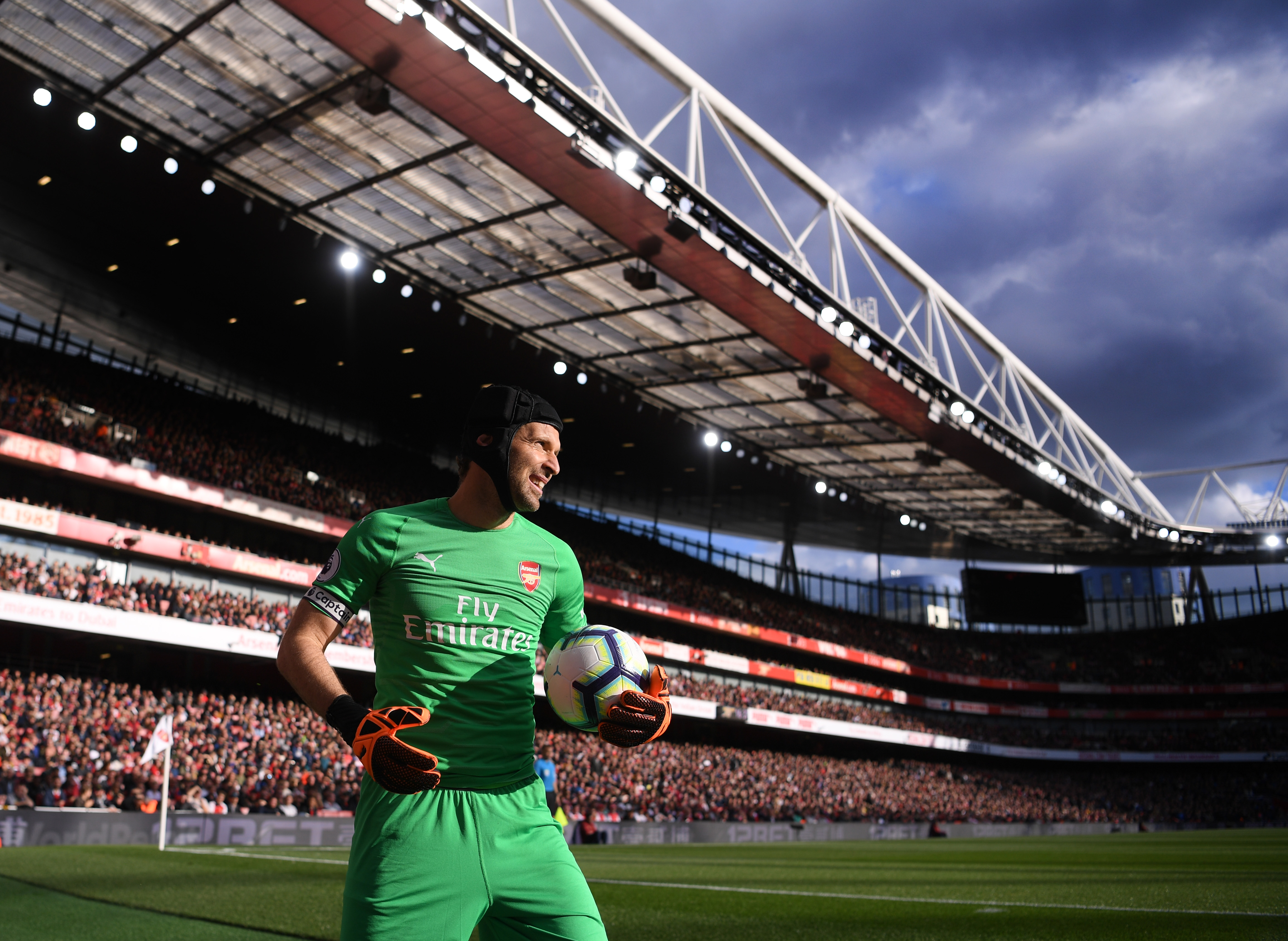 Petr Cech Arsenal Everton Premier League 09/23/18