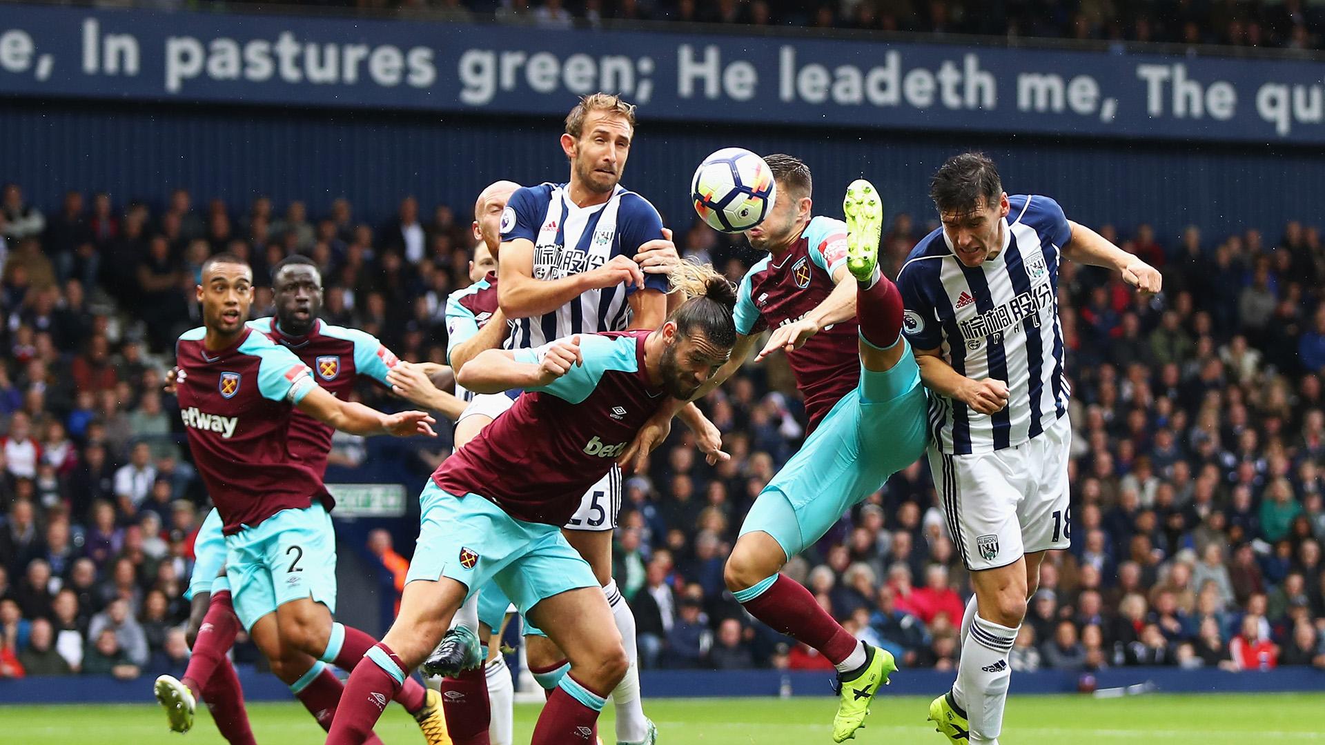 West Ham West Brom Premier League