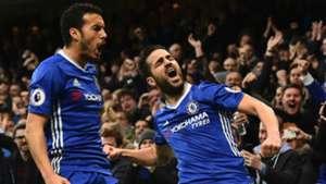 Pedro Cesc Fabregas Chelsea 2017