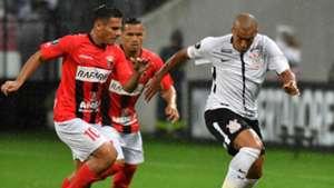 Emerson Sheik Pedro Ramirez Corinthians Deportivo Lara 14032018 Copa Libertadores