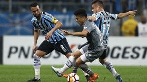 Lucas Rodriguez Ramiro Gremio Estudiantes Copa Libertadores 28082018