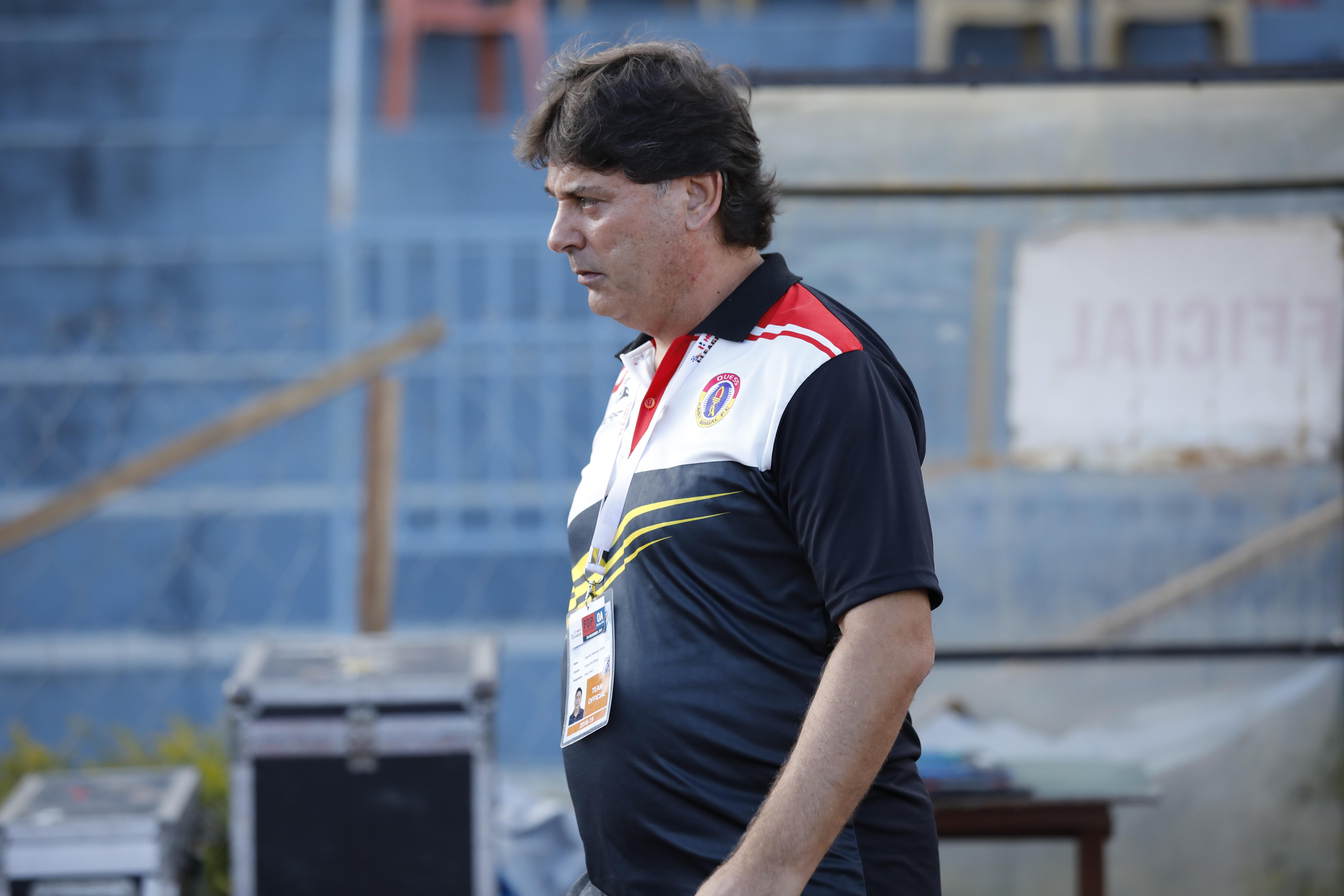 Alejandro Menendez Aizawl FC East Bengal 2018-19