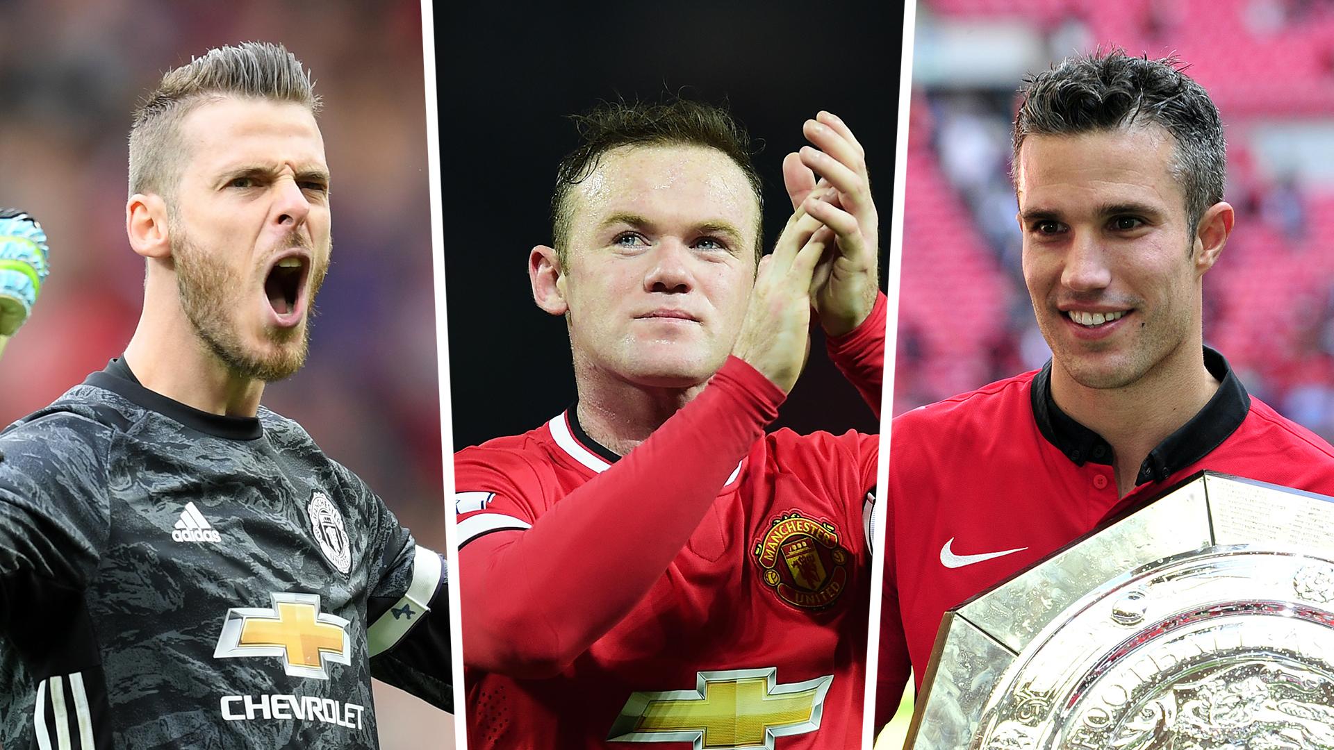 Man Utd Team of the Decade: Rooney Van Persie lead the line