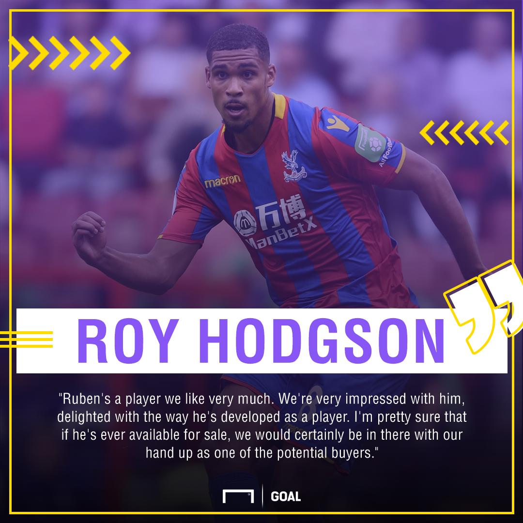 Roy Hodgson Ruben Loftus-Cheek interest