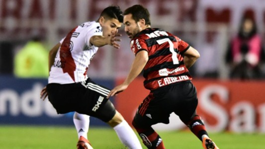 Everton Ribeiro Exequiel Palacios River Plate Flamengo Copa Libertadores 23052018