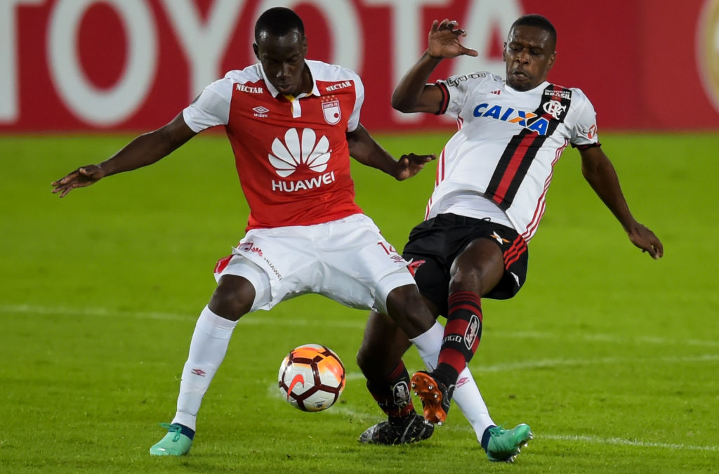 Baldomero Perlaza Santa Fe - Flamengo Copa Libertadores 2018