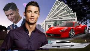 ronaldo rich