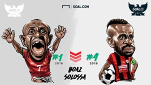 Boaz Solossa -  Pemain Yang Bertahan Di Goal25
