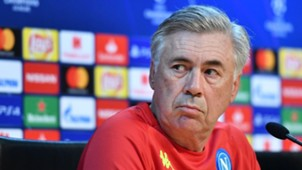 Carlo Ancelotti Napoli PSG press conference