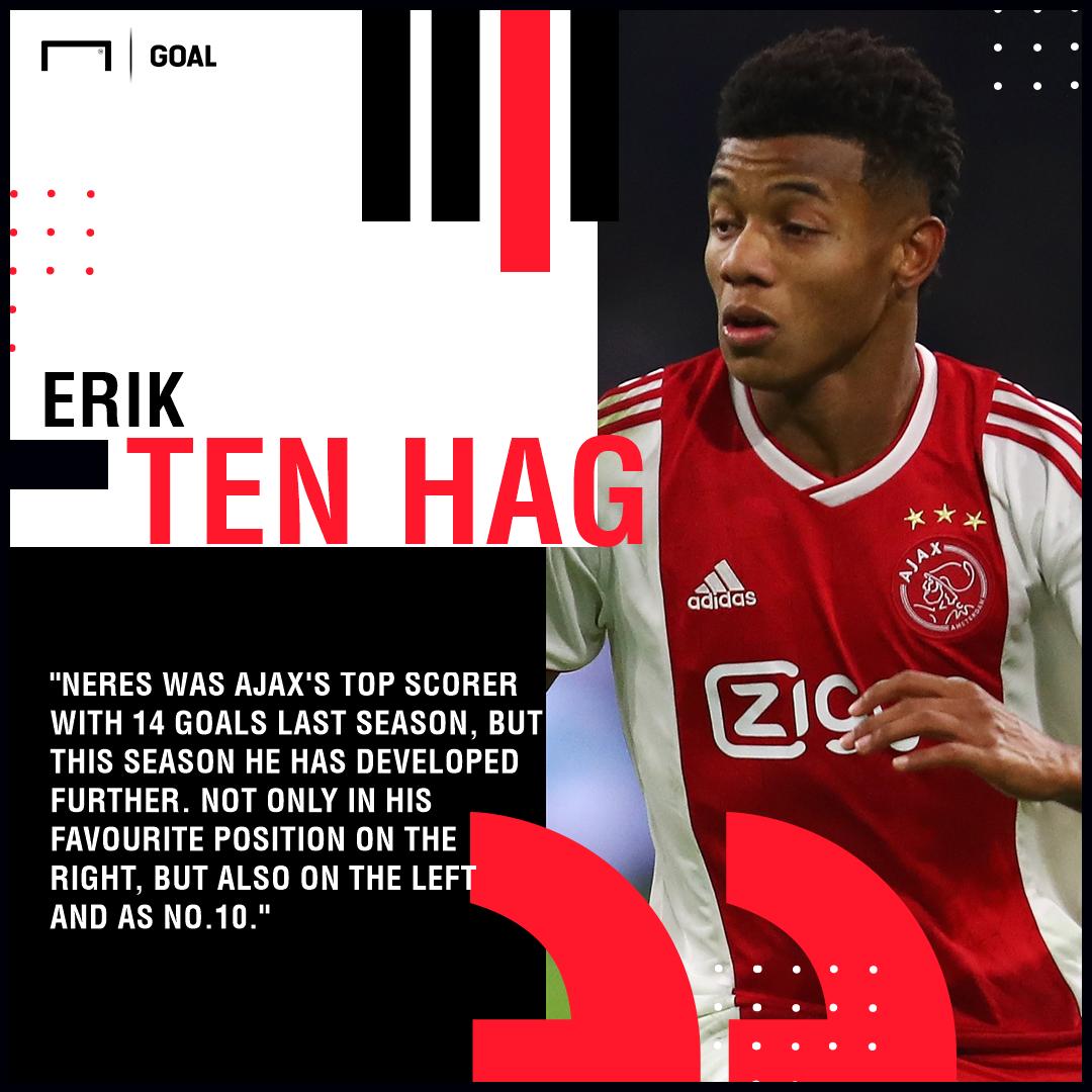 GFX Info Erik ten Hag David Neres quote Ajax