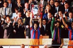 Barcelona Champions League 1992 Sampdoria Alexanko Zubizarreta