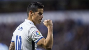 James Rodriguez Real Madrid Deportivo La Coruña LaLiga 26042017
