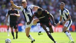 Sammy Ameobi - Bolton Wanderers vs. West Bromwich Albion, English Championship