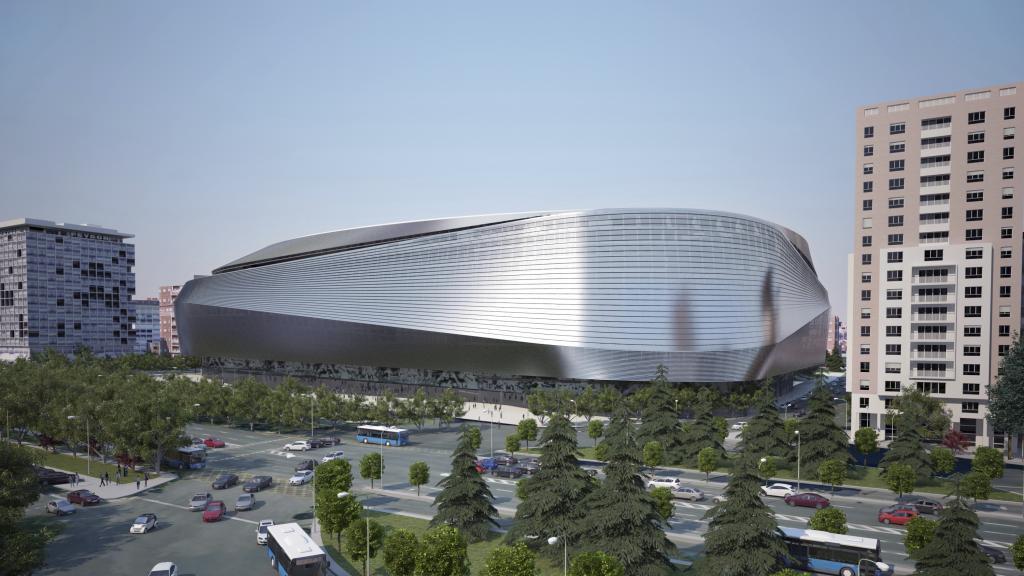 new Estadio Santiago Bernabeu