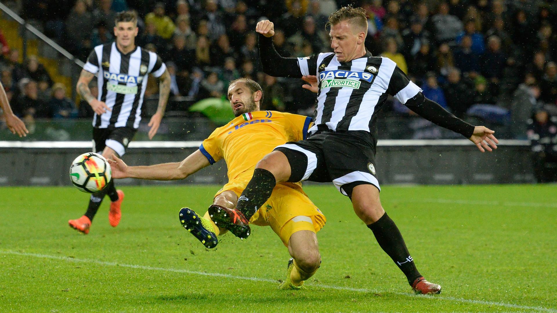 Chiellini Maxi Lopez Udinese Juventus