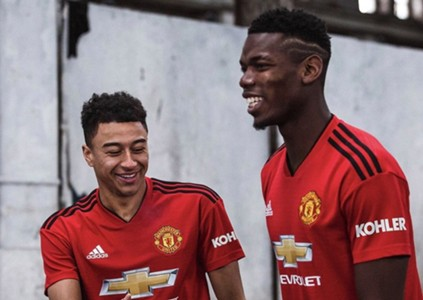 Manchester United home kit for the 2018/19 season