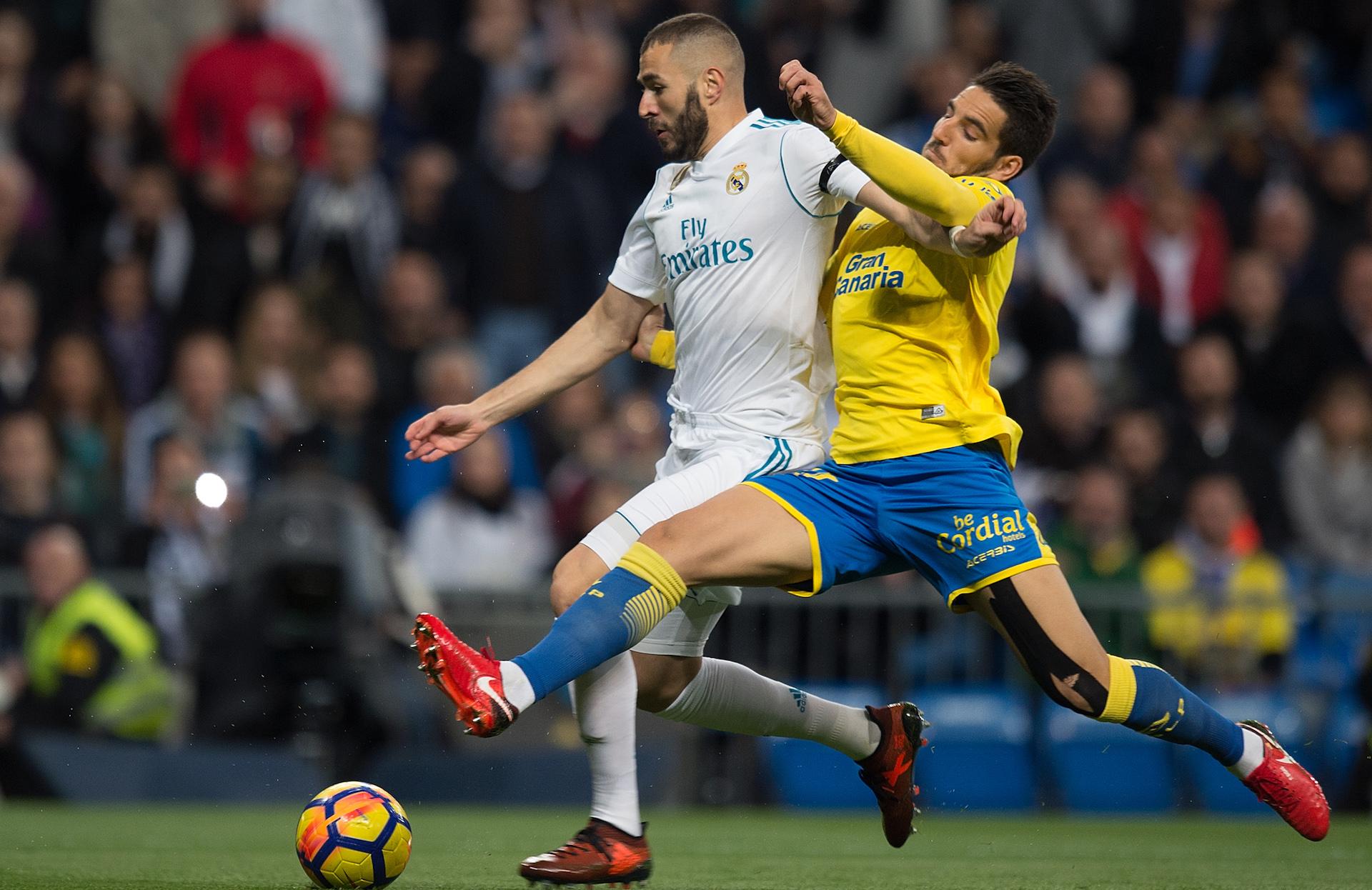 Real Madrid se recuperó con goleada ante Las Palmas