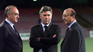 Ancelotti Giraudo Moggi Juventus
