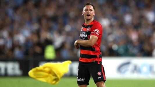Brendon Santalab Western Sydney Wanderers Sydney FC