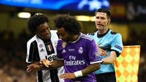 Juan Cuadrado & Macerlo Juventus - Real Madrid Champions League 03062017