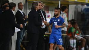 Lorenzo Insigne Roberto Mancini Italy