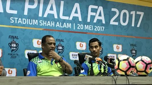 Dollah Salleh, Matt Davies, Pahang, FA Cup, 19/05/2017