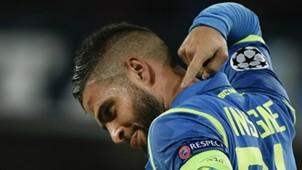 Lorenzo Insigne Napoli Liverpool Champions League 2018-19