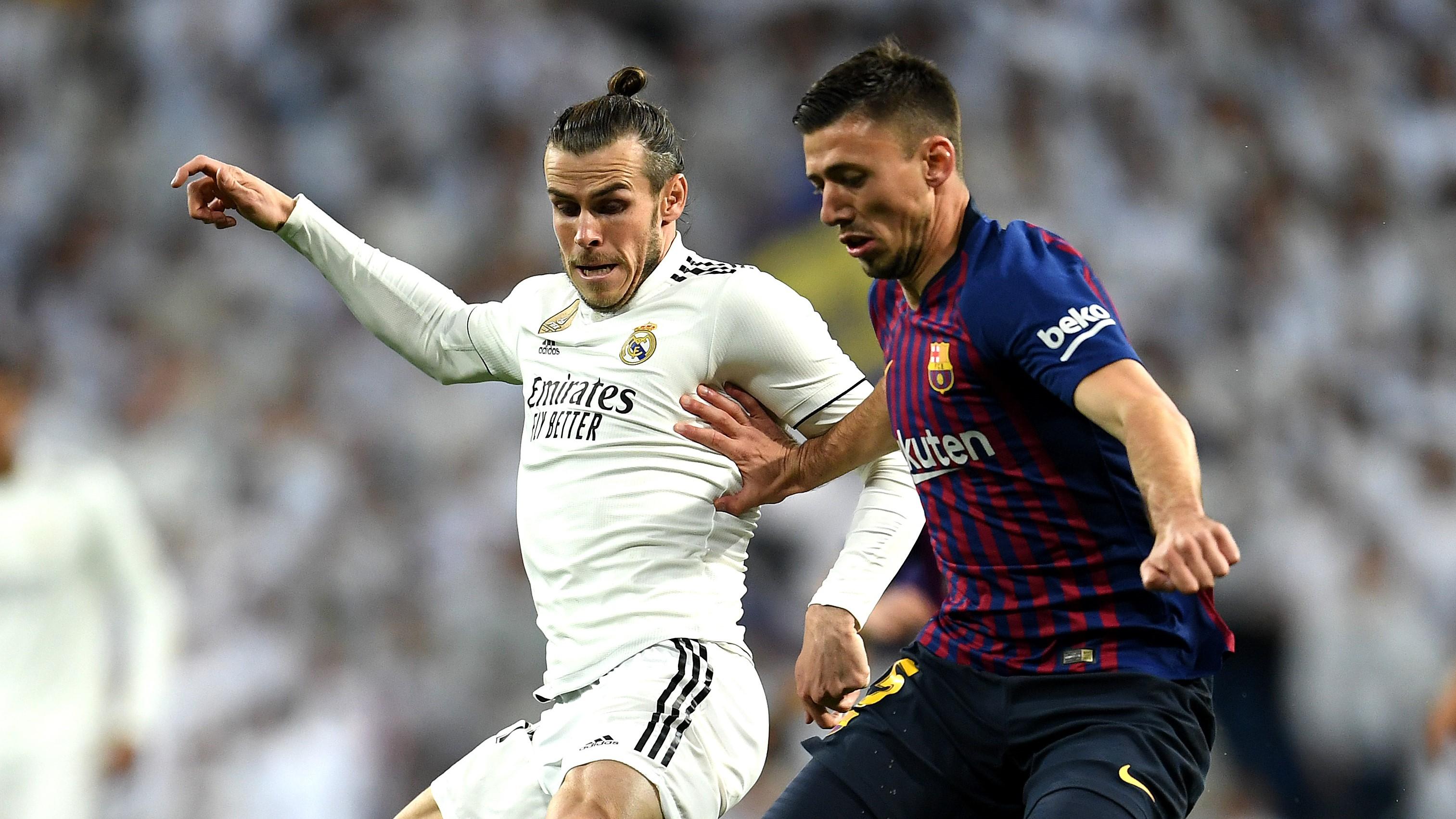 Gareth Bale Clement Lenglet Real Madrid Barcelona LaLiga 03022019