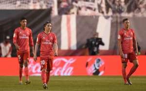Modric Llorente Varane Rayo Vallecano Real Madrid