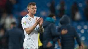 Toni Kroos Real Madrid 14012018